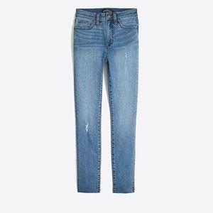 "J. Crew Mercantile 9"" high rise skinny jeans"